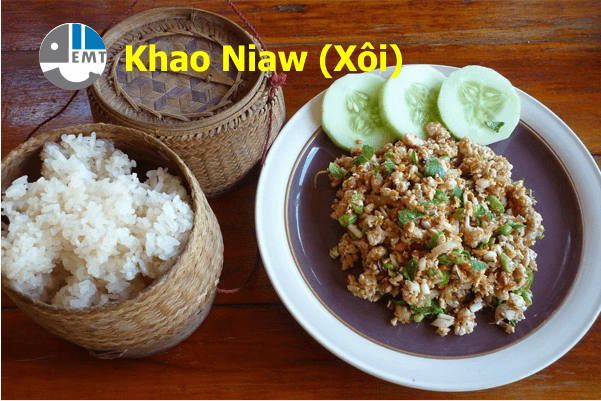 Khao Niaw (Xôi)