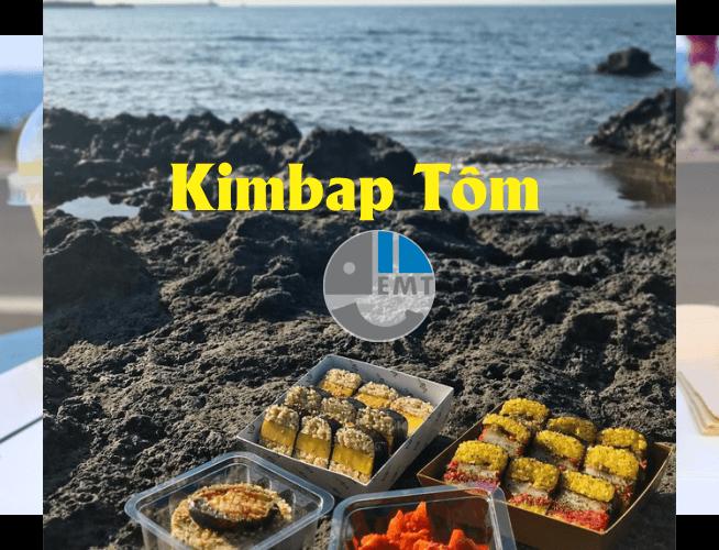 Kimbap tôm