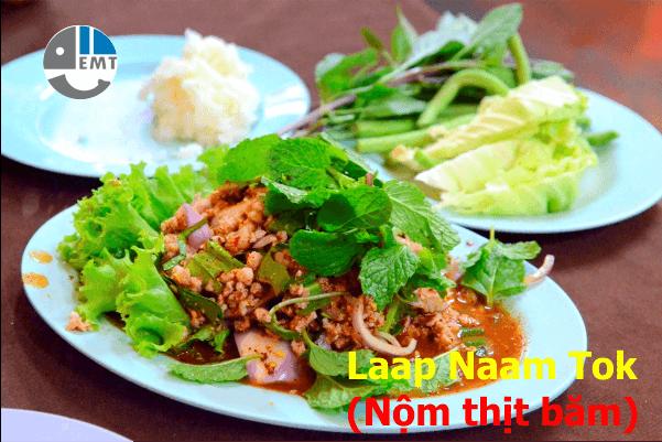 Laap Naam Tok (Nộm thịt băm)