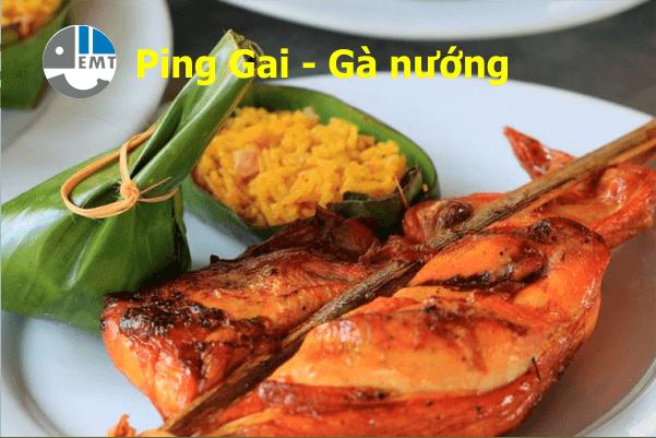 Ping Gai - Gà nướng