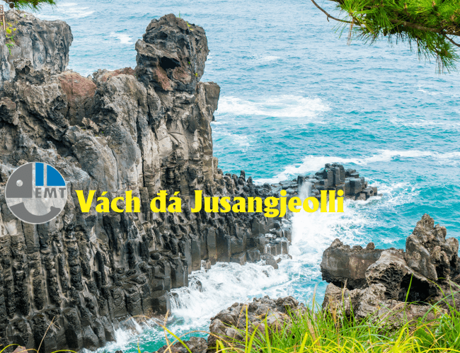 Vách đá Jusangjeolli