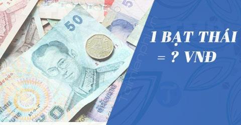 Cách sử dụng tiền Thái Lan 2019