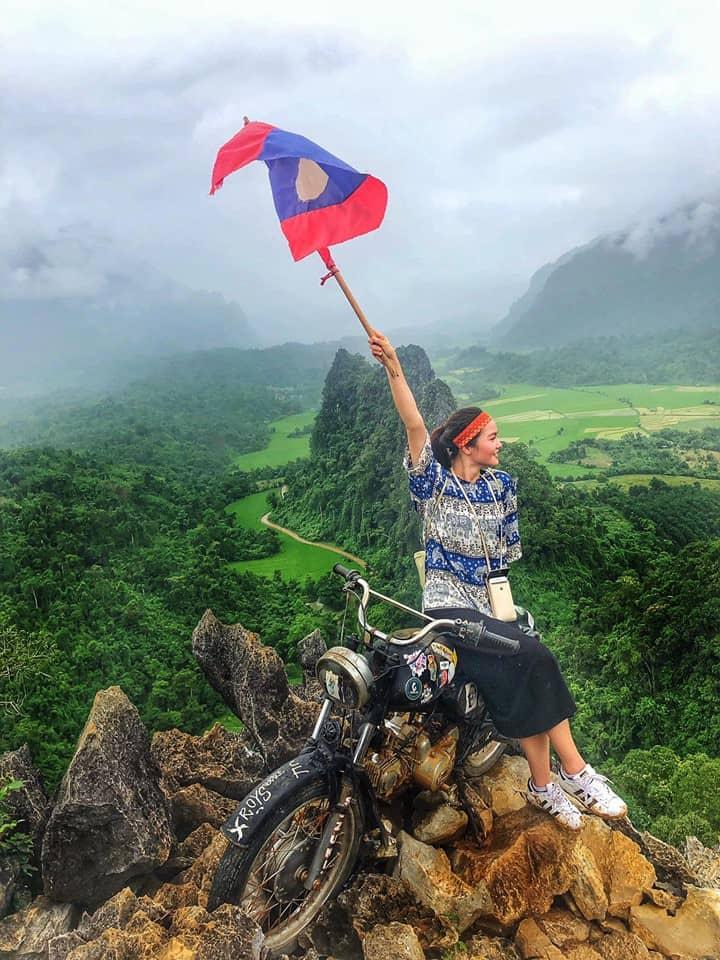 Trải nghiệm của cô gái trẻ Hà Thành một mình tự túc tìm ra điều bí ẩn tại đất nước Lào