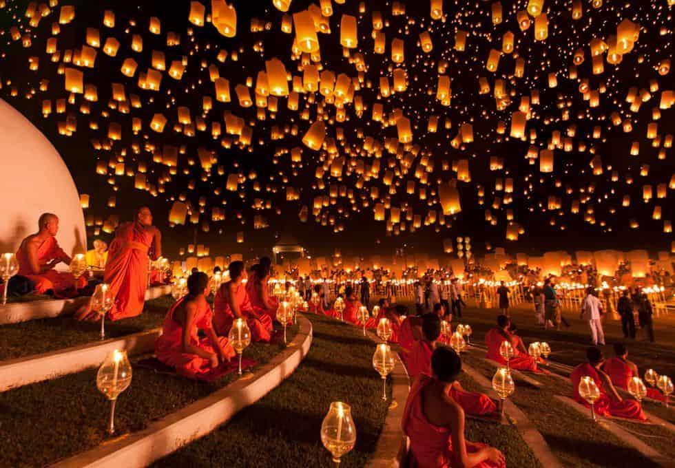 """Du lịch Thái Lan tháng 11 Lễ hội Hoa Đăng """"Loi Krathong"""""""