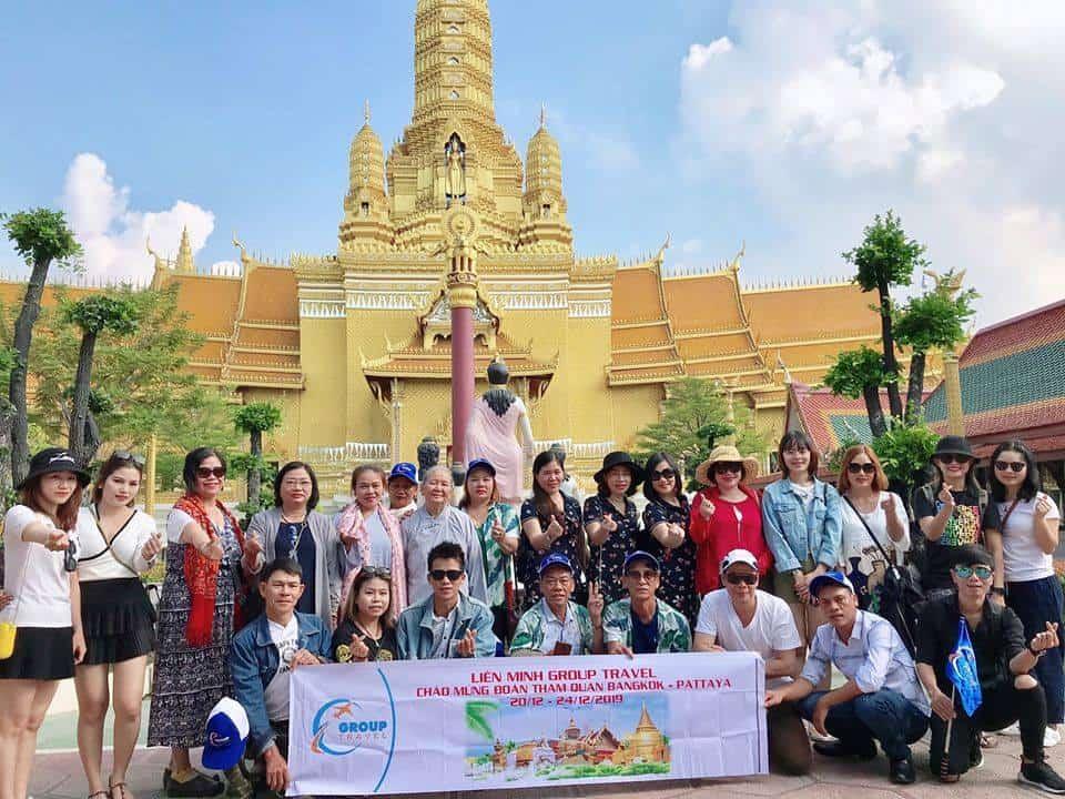 Đoàn du lịch Thái Lan